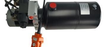 Mini unidade hidráulica